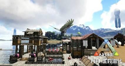 驯龙建房子,《方舟:生存进化》手游用自由的玩法诠释生存真谛