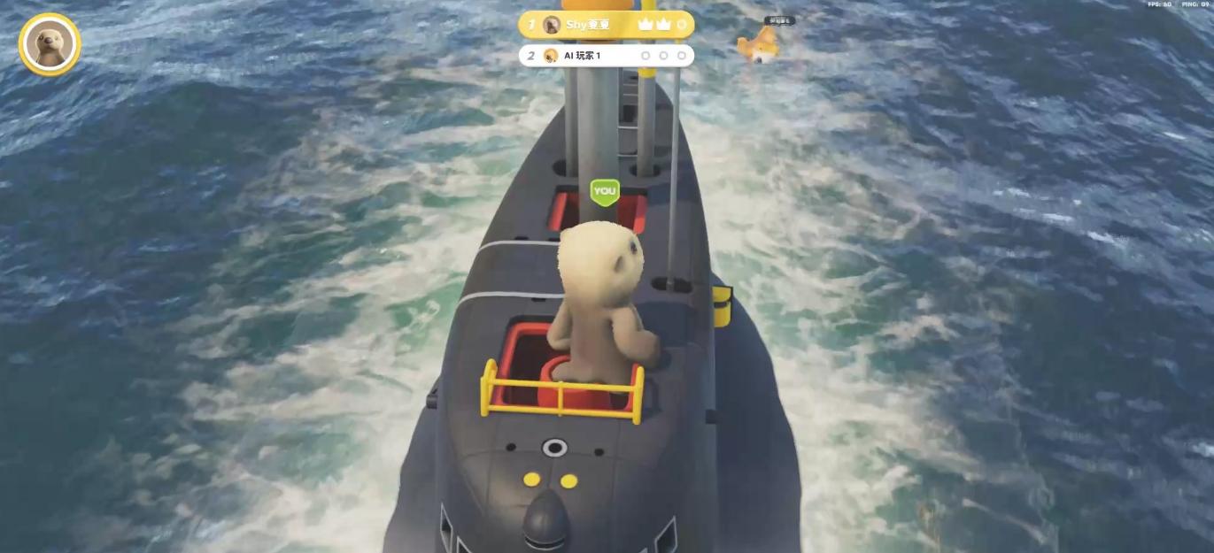 动物派对潜艇地图爬墙攻略2